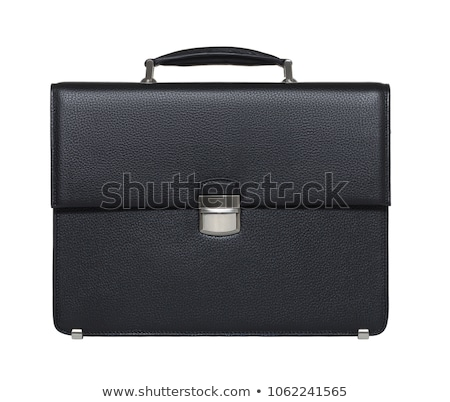 Business briefcase isolated on white  stock photo © ordogz