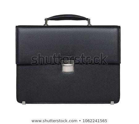 ビジネス ブリーフケース 孤立した 白 ストックフォト © ordogz