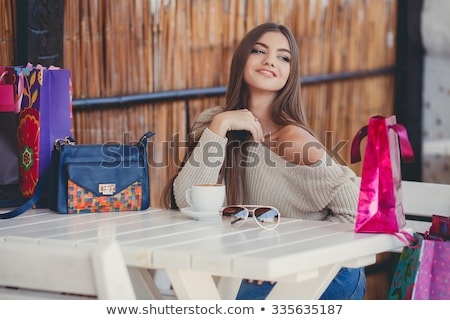 Break after shopping. Stock photo © Fisher