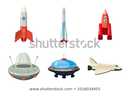 vector flat style set of travel objects stock photo © curiosity