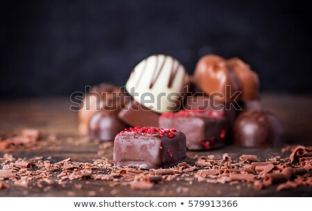 dois · chocolate · comida · doce · decorativo - foto stock © digifoodstock