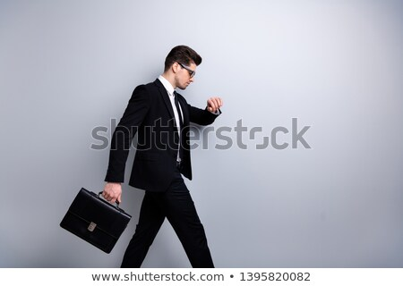 businessman with case hurrying Stock photo © IS2
