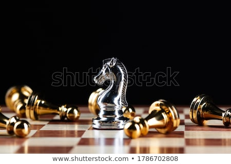 táctico · tres · crudo · pie · rey - foto stock © fisher