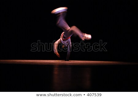 A B-Boy Performance at Stage Stock photo © bluering