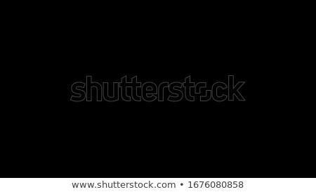 Stockfoto: Zwarte · creatieve · foto · keukengerei · geschilderd