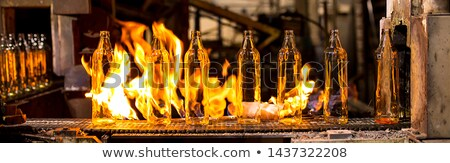 Factory manufacturing of glass production Stock photo © Traimak