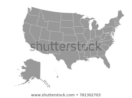 map of the U.S. state of California, vector illustration. stock photo © kyryloff