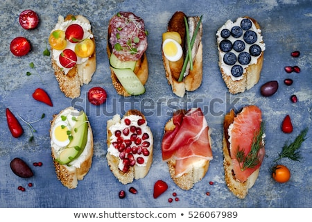 sandwich · avocat · alimentaire · vert · pain - photo stock © karandaev