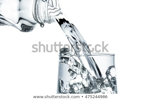 Glass of fresh cool tonic Stock photo © homydesign