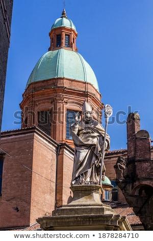 Szent szobor kilátás épület utazás épületek Stock fotó © boggy