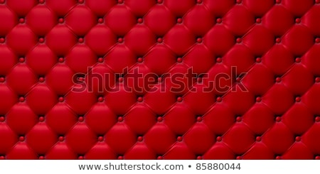 luxury red buttoned leather pattern stock photo © arsgera