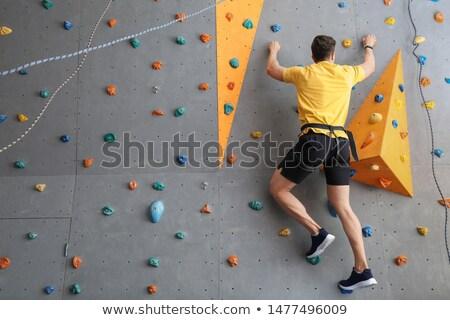скалолазания человека человек стены пород Сток-фото © robuart