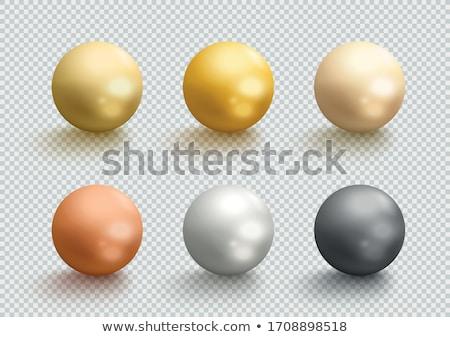 3D solide balle sphères trois Photo stock © jeff_hobrath