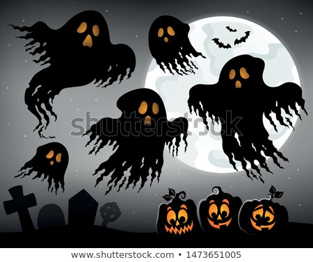 Halloween image sujet art automne Photo stock © clairev