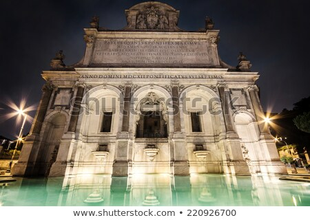 Fontana dell'Acqua Paola, Rome Stock photo © borisb17
