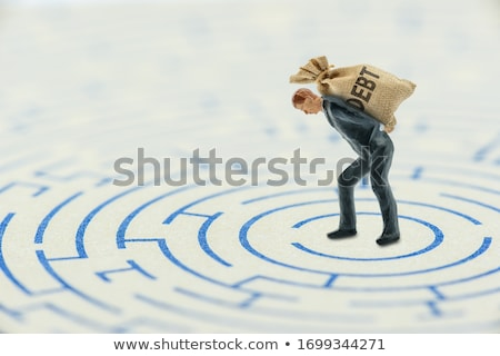 Bad Credit Debt Solutions Concept. Stock photo © olivier_le_moal