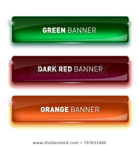 Web knoppen acht kleuren ingesteld Stockfoto © SArts