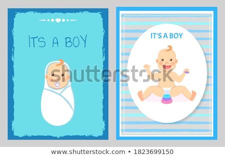 мальчика · школы · молодые · играть - Сток-фото © robuart