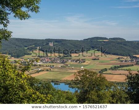 Görmek manastır Almanya vadi ana nehir Stok fotoğraf © borisb17