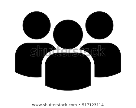 Targeting Person Icon Vector Outline Illustration Stock photo © pikepicture