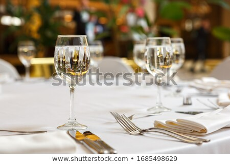 салфетку ресторан таблице Сток-фото © Pheby