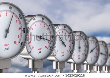 manometer on sky background. 3d illustration Stock photo © ISerg