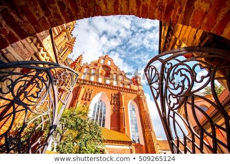 Церкви Вильнюс Литва римской католический старый город Сток-фото © borisb17