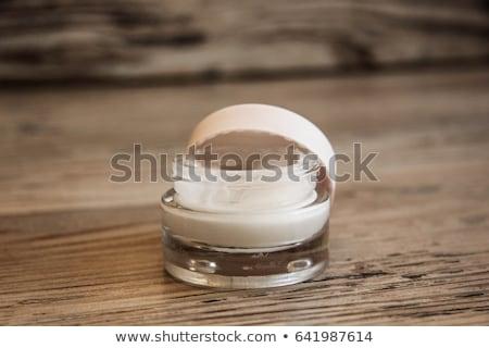 Arckrém hidratáló bögre rózsaszín hidratáló bőr Stock fotó © Anneleven
