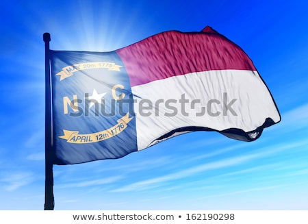 Vlag North Carolina alle communie lagen Stockfoto © nazlisart