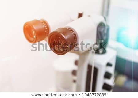 Okulista szpitala człowiek oczy zdrowia okulary Zdjęcia stock © Elnur