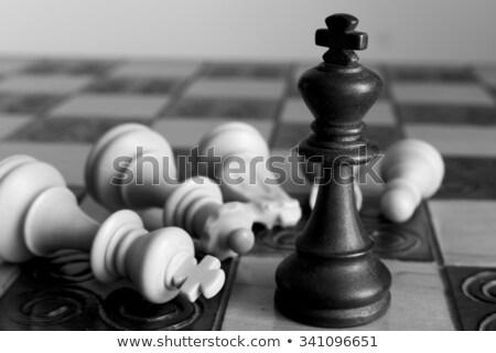 Black King wins Stock photo © creisinger