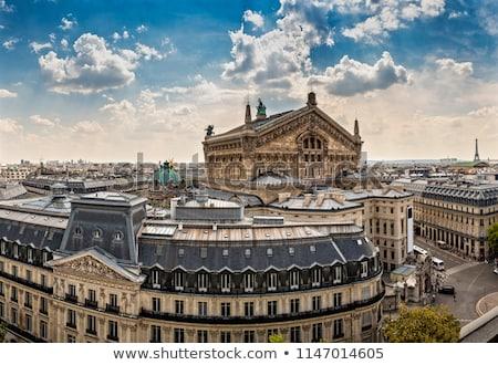 表示 · 屋根 · パリ · フランス · 通り · 歴史的 - ストックフォト © antonprado