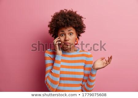A hesitant woman Stock photo © photography33