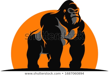 angry ape stock photo © fizzgig