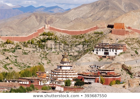 Gyantse lamasery,Tibet Stock photo © bbbar