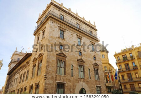 Palace of the Generalitat Valenciana Stock photo © aladin66