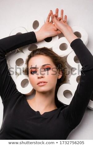 mulher · papel · de · parede · jovem · belo · loiro - foto stock © photography33