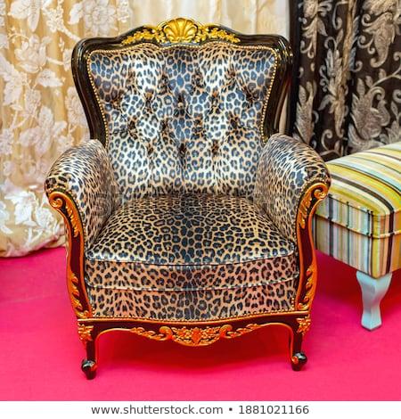salón · moderna · muebles · 3d · pared · casa - foto stock © spectral