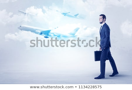Businessman coming from afar stock photo © 6kor3dos