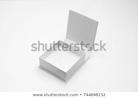 White Box with Love on Sides Isolated Stock photo © feverpitch
