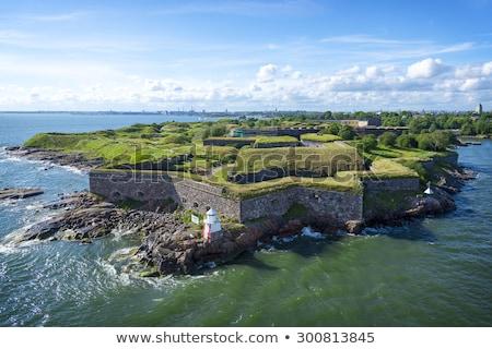 Suomenlinna fortress. Stock photo © maisicon