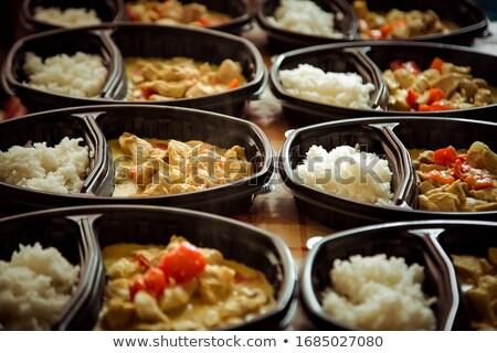 Hot meal Stock photo © trgowanlock