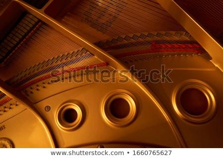 ピアノ · 表示 · 木材 · コンサート · クラス - ストックフォト © lillo