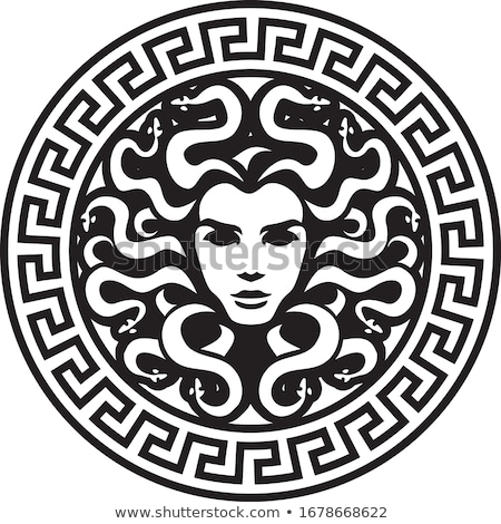 Medusa Head Illustration Stock photo © ankarb