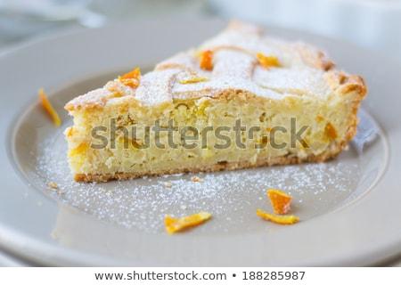 Rebanada tarta original Pascua torta Nápoles Foto stock © aladin66