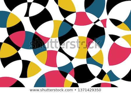 цвета Круги шаблон иллюстрация искусства Сток-фото © latent
