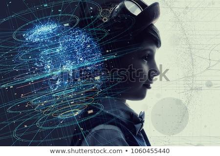 少年 天才 かわいい 子 鉛筆 ストックフォト © ilona75
