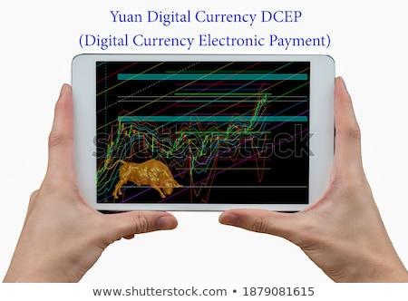 3d businessman with renminbi currency symbol Stock photo © Kirill_M