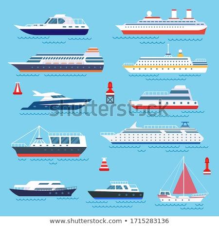 Cruise Sailboat Stock photo © Kirill_M