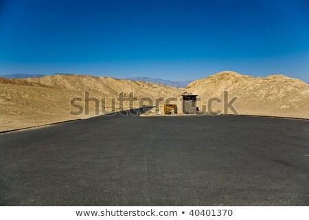 パレット · 死 · 谷 · 道路 · 青 · 岩 - ストックフォト © meinzahn
